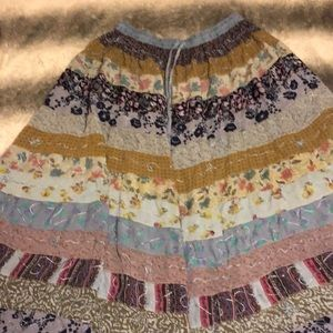 Blue Sky Skirts - BoHo patchwork skirt! 💥⭐️